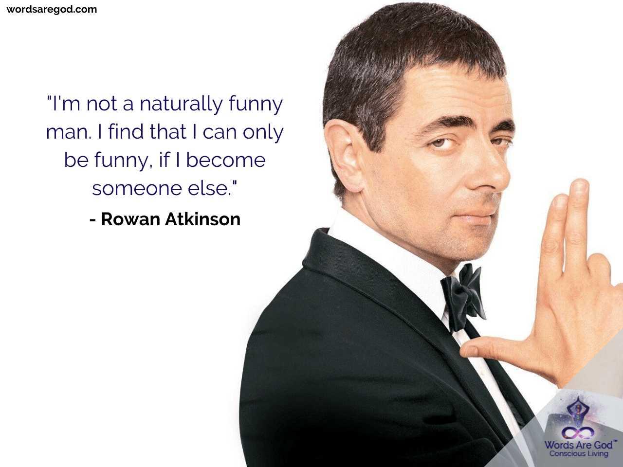 Rowan Atkinson Best Quotes by Rowan Atkinson