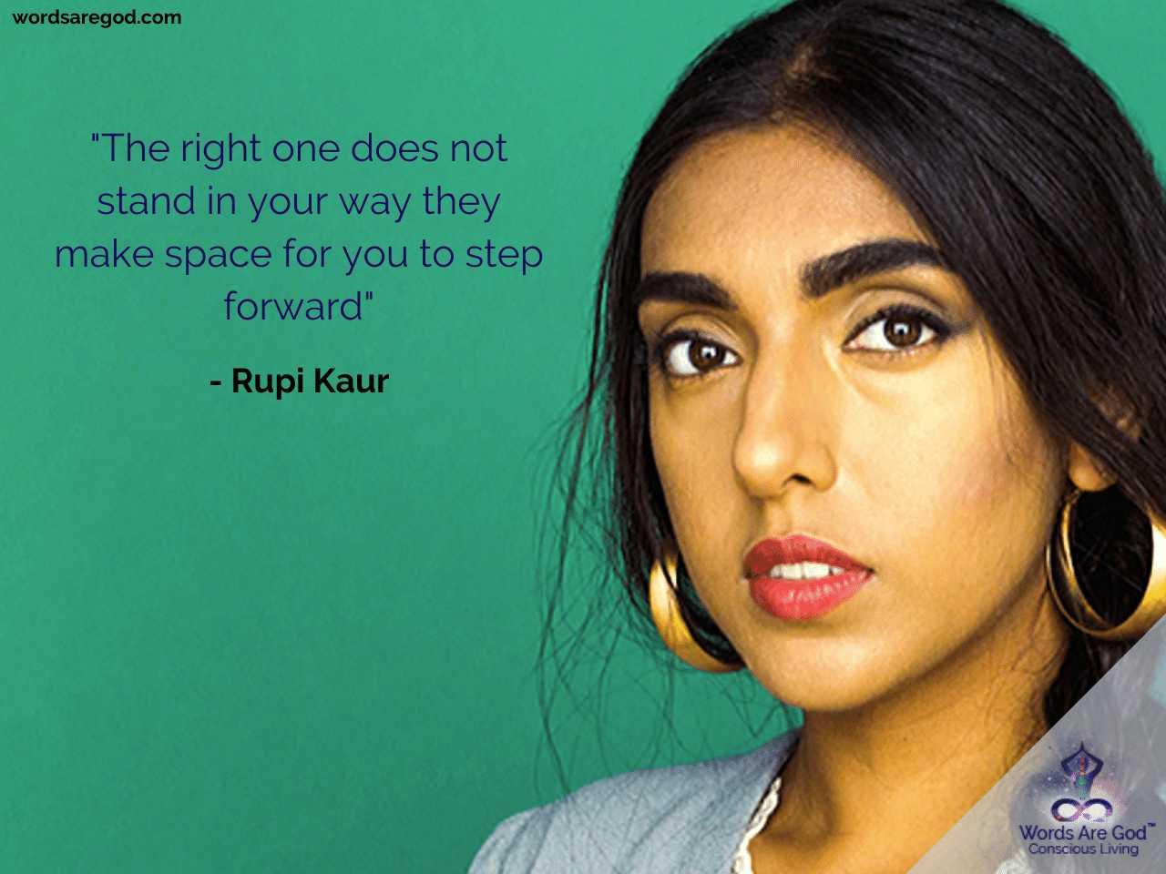 Rupi Kaur Best Quote