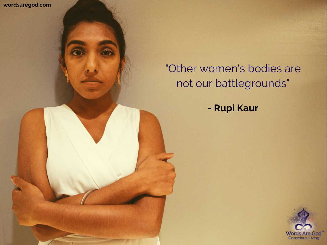 Rupi Kaur Inspirational Quote