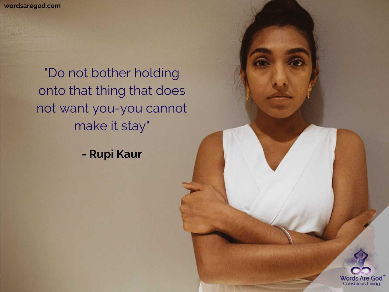Rupi Kaur Inspirational Quote