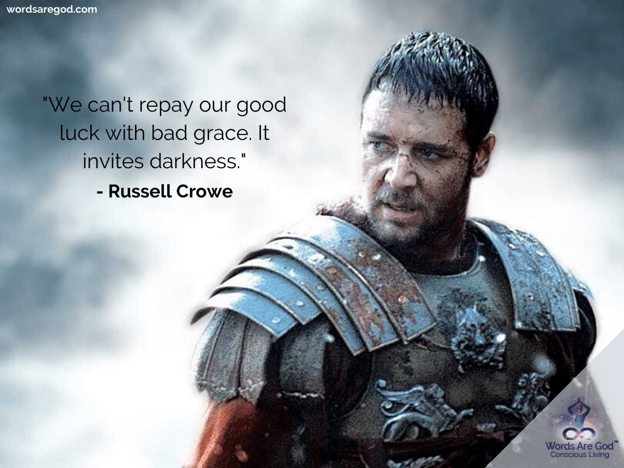 Russell Crowe Inspirational Quotes