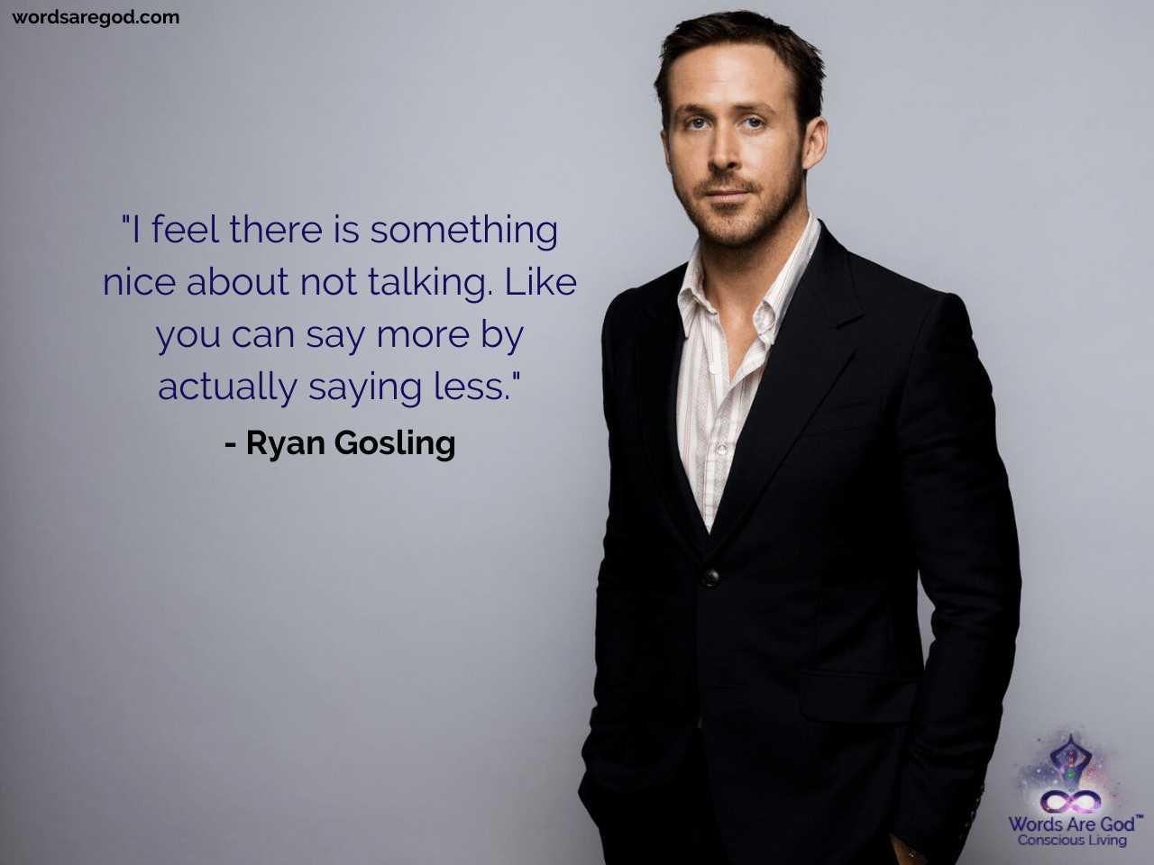 Ryan Gosling Best Quotes