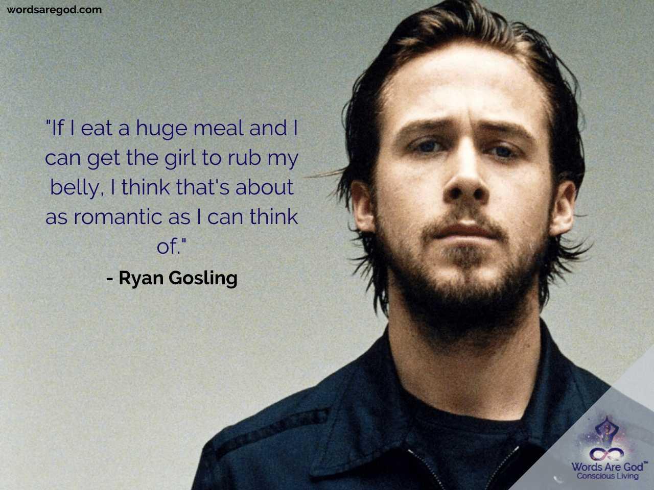 Ryan Gosling Motivational Quotes