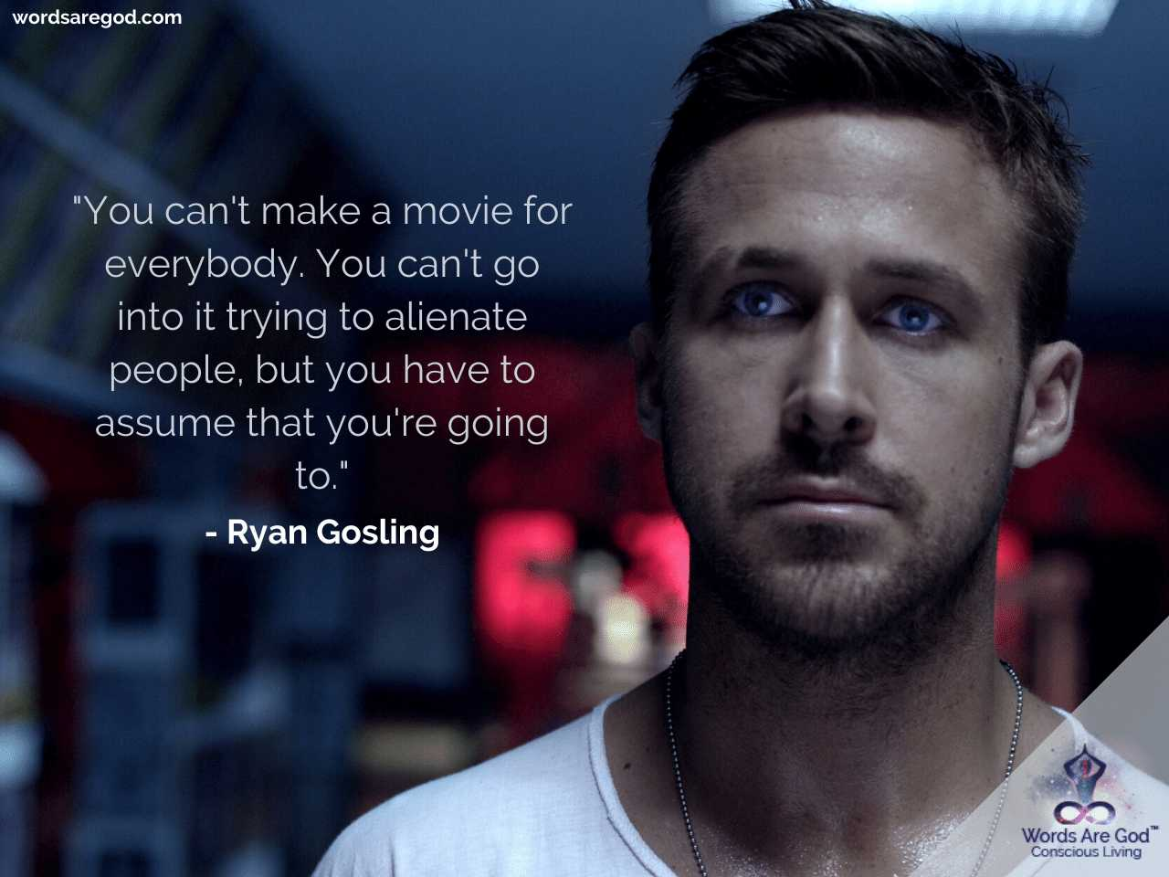 Ryan Gosling Motivational Quotes