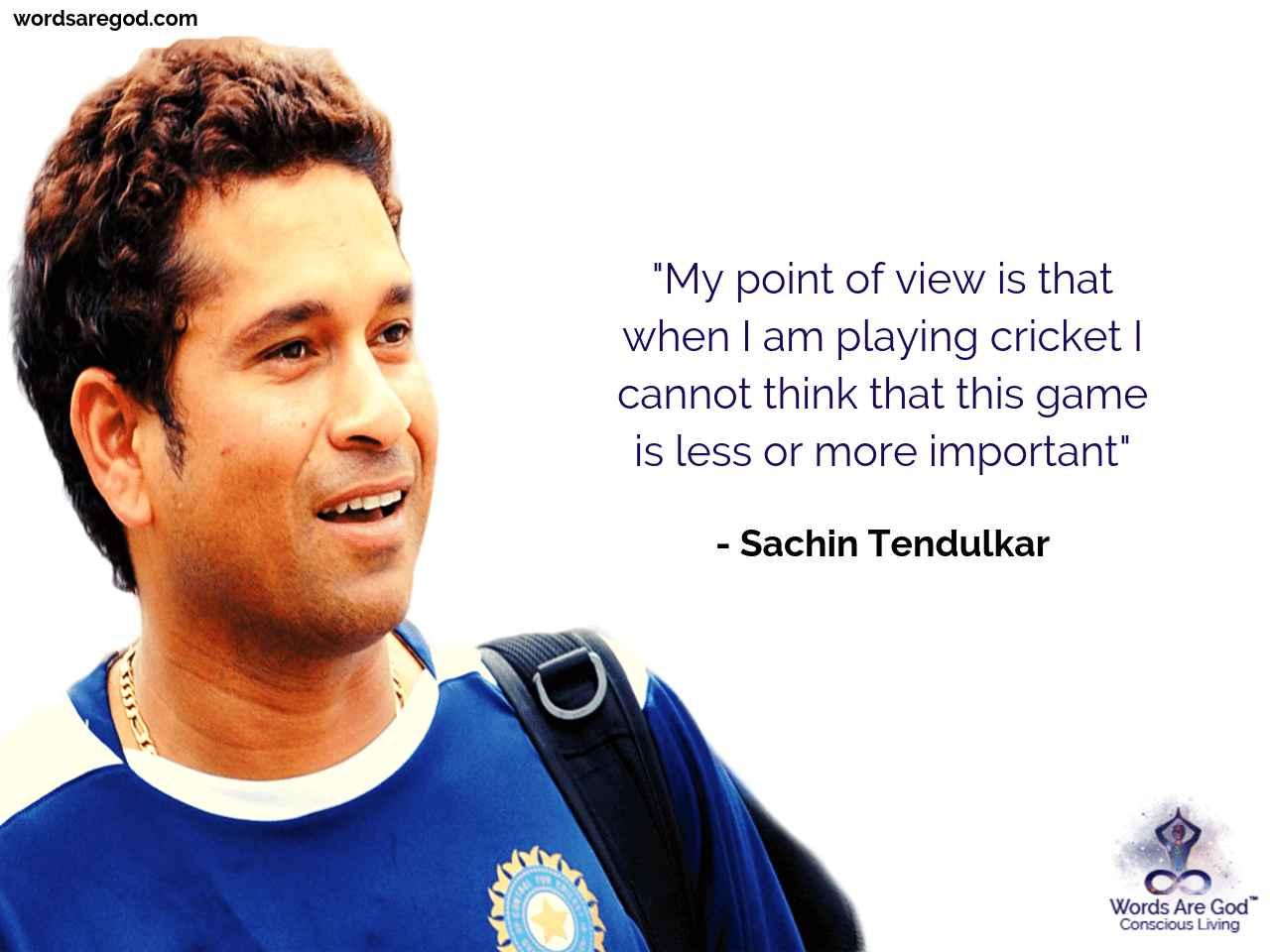 Sachin Tendulkar Best Quote by Sachin Tendulkar