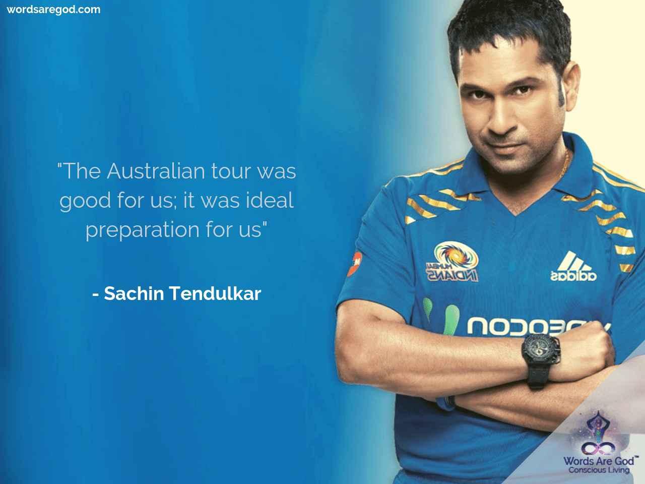 Sachin Tendulkar Inspirational Quote