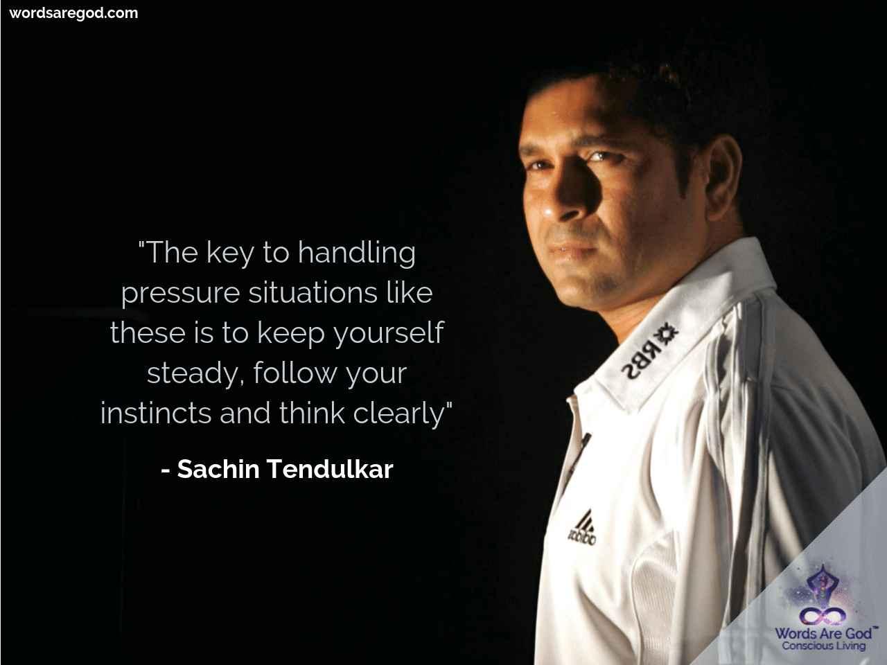 Sachin Tendulkar Motivational Quote by Sachin Tendulkar