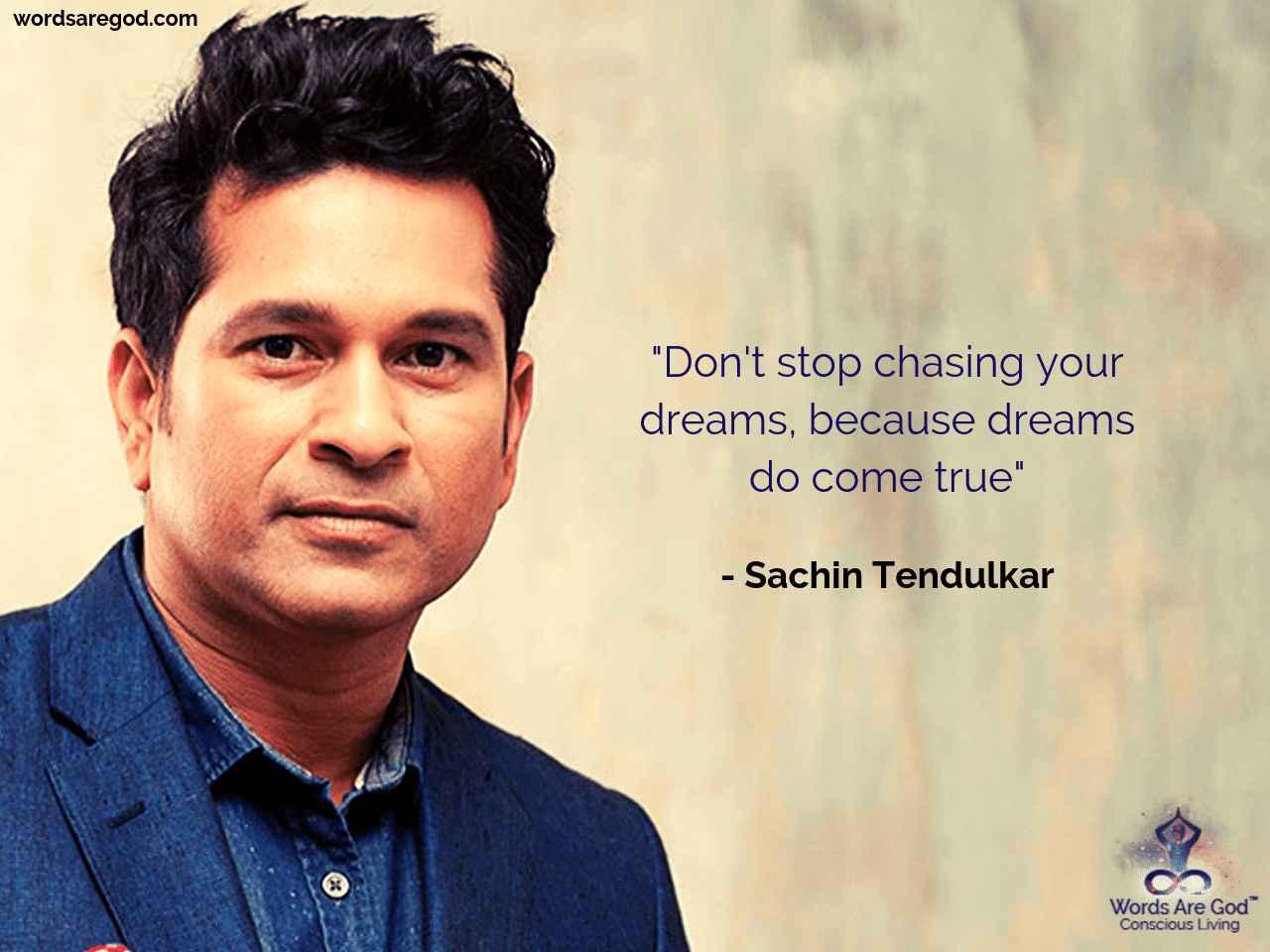 Sachin Tendulkar Motivational Quote