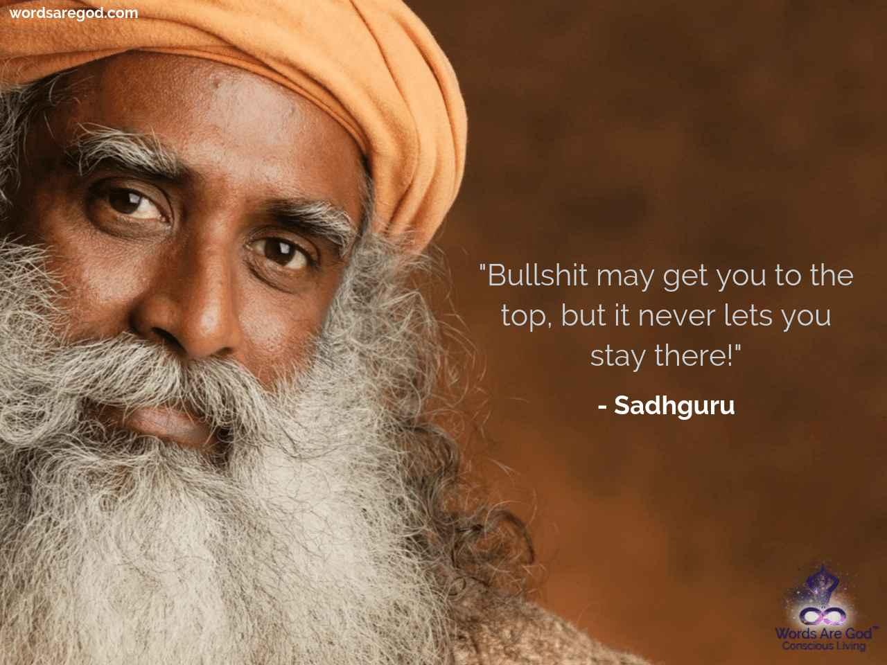 Sadhguru Motivational Quote by Sadhguru