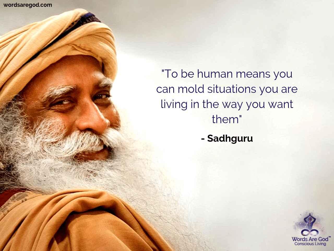 Sadhguru Best Quote by Sadhguru