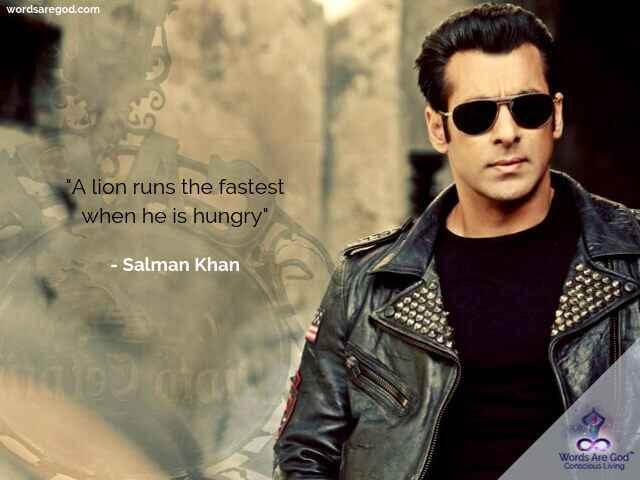 Salman Khan Best Quote