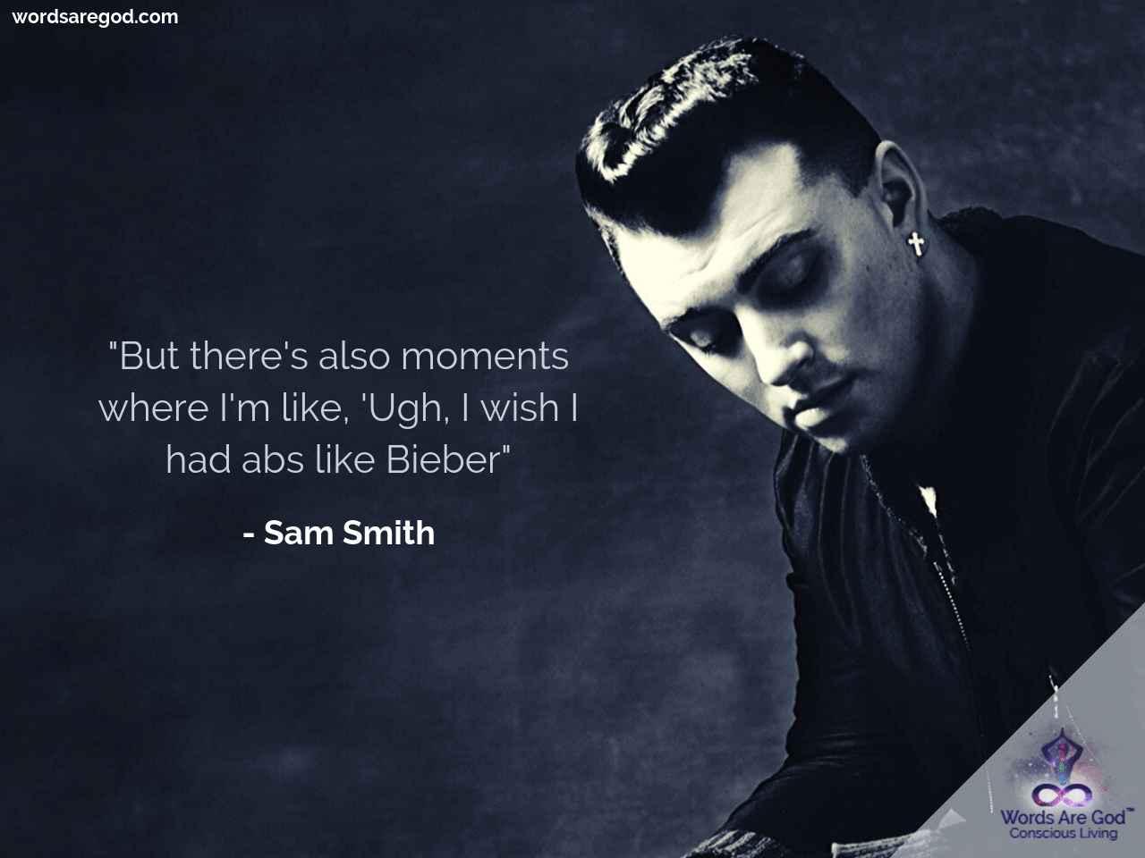 Sam Smith Inspirational Quote