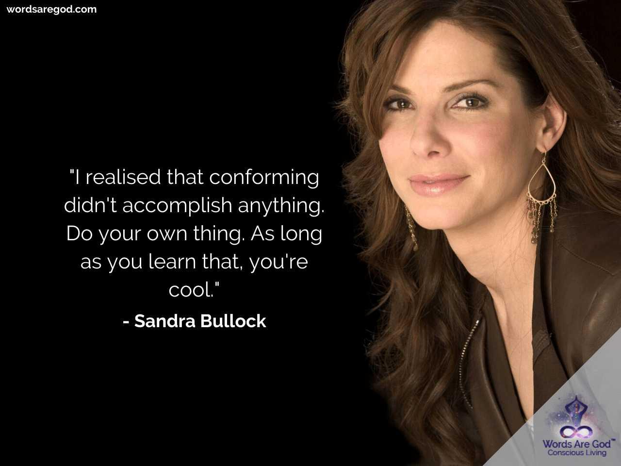 Sandra Bullock Best Quotes