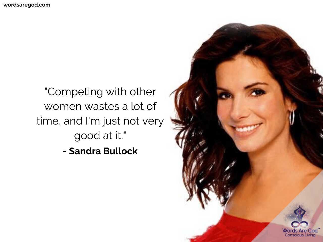 Sandra Bullock Inspirational Quotes