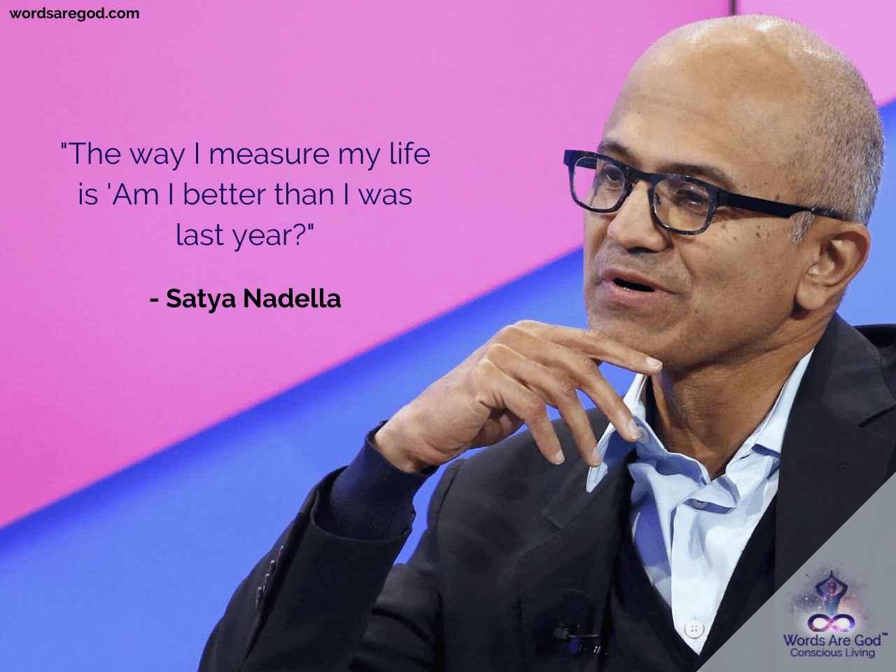 Satya Nadella Inspirational Quote