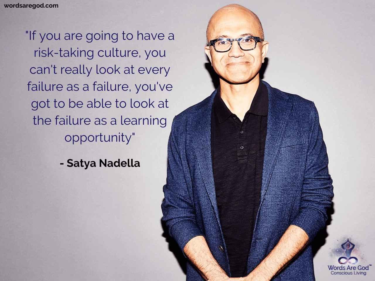 Satya Nadella Life Quote