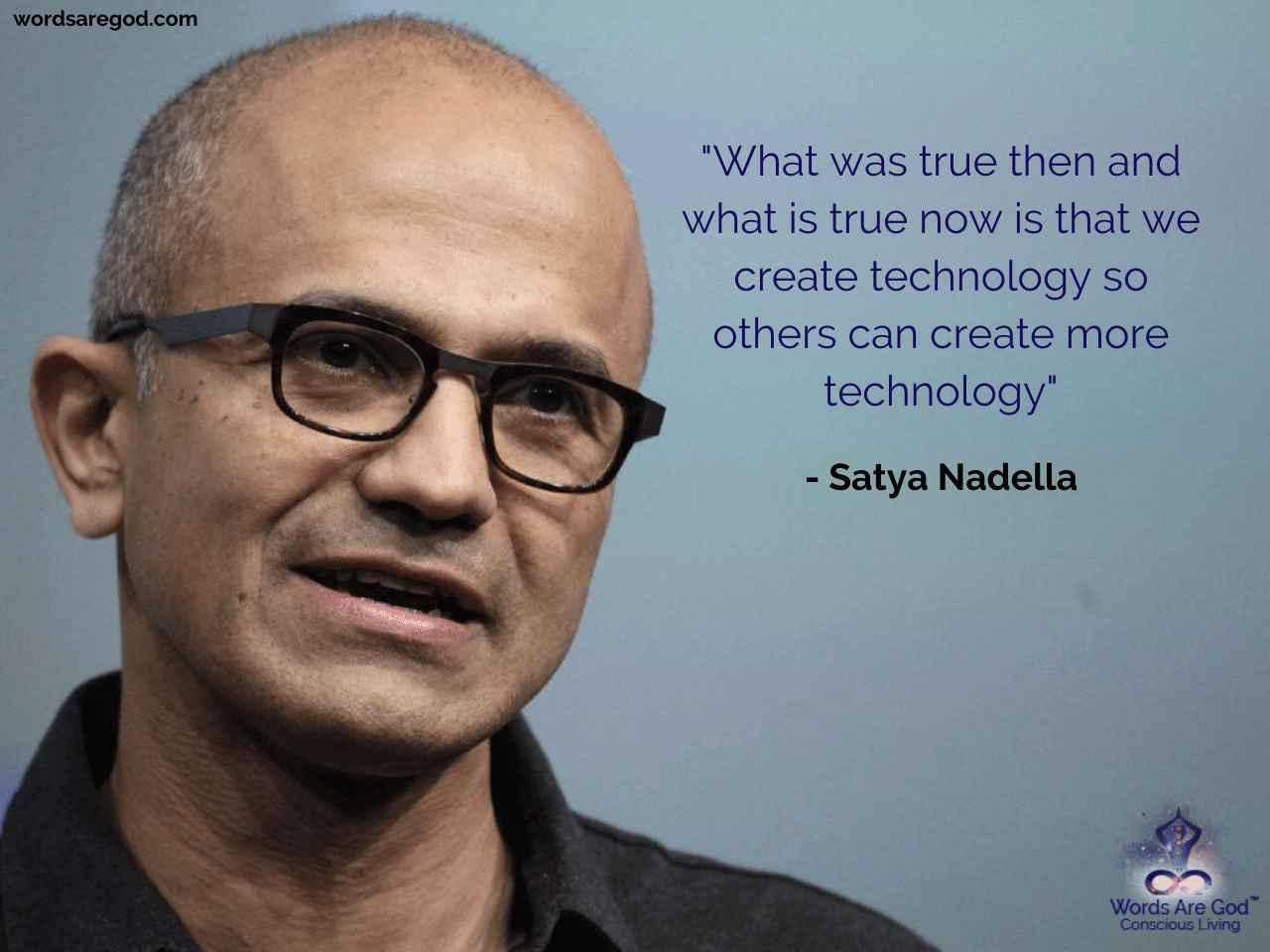 Satya Nadella Motivational Quote by Satya Nadella