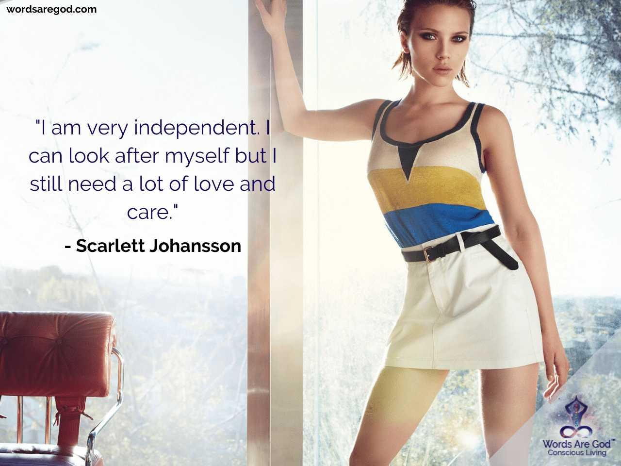 Scarlett Johansson Life Quote