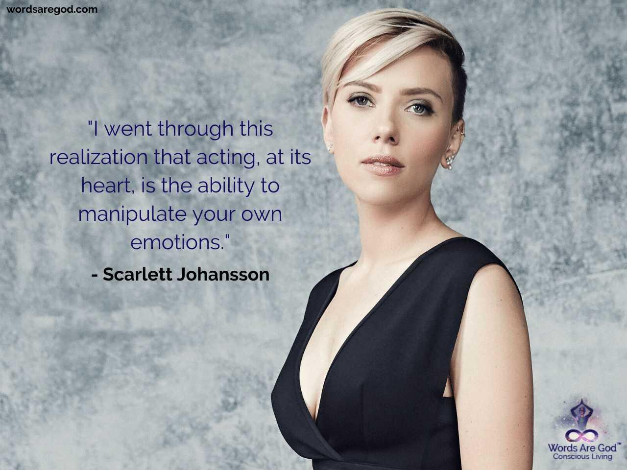 Quotes Best 500 Quotes By Scarlett Johansson Words Are God