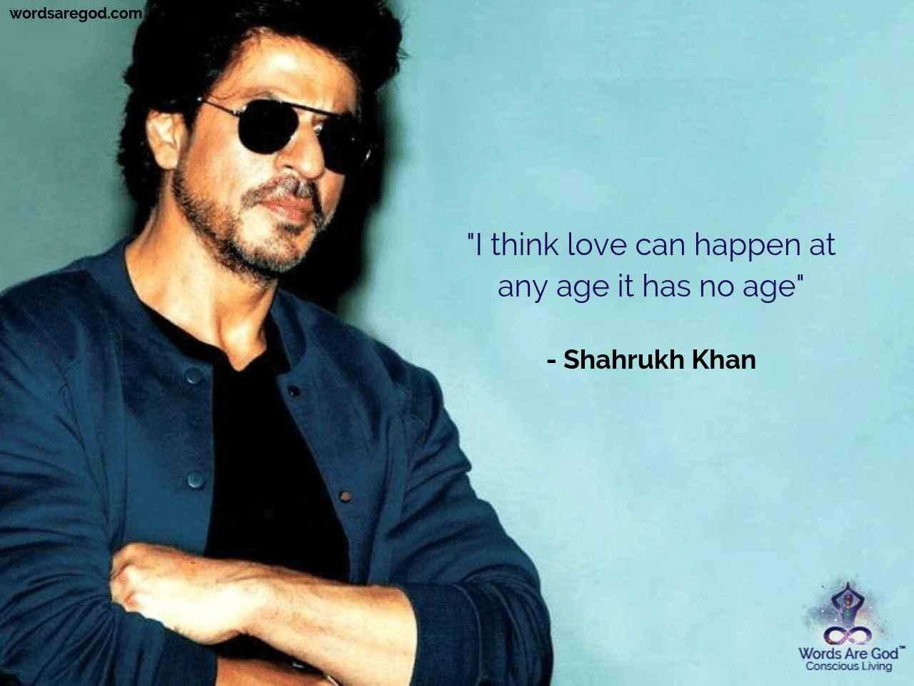 Shahrukh Khan Best Quote