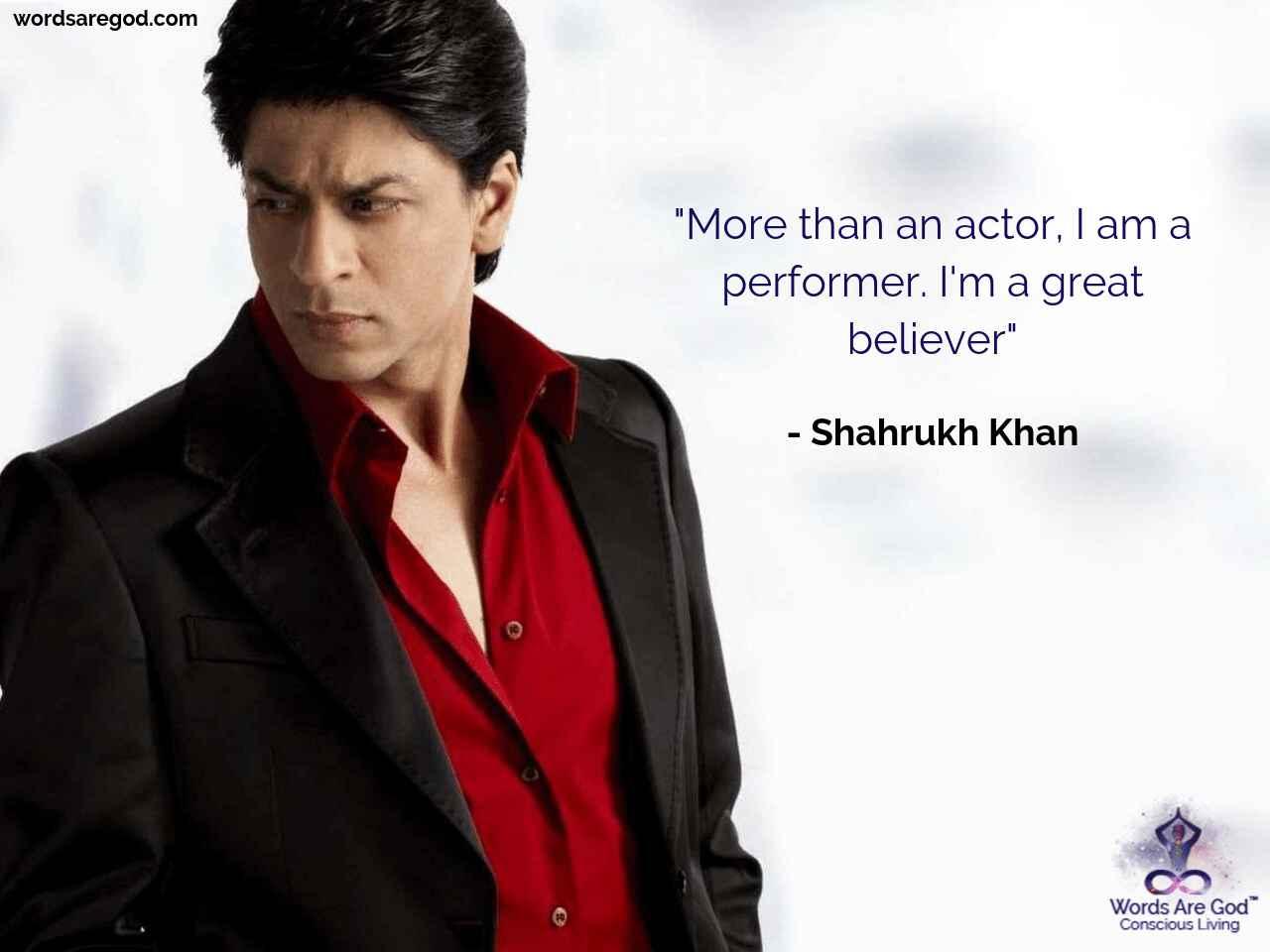 Shahrukh Khan Life Quote