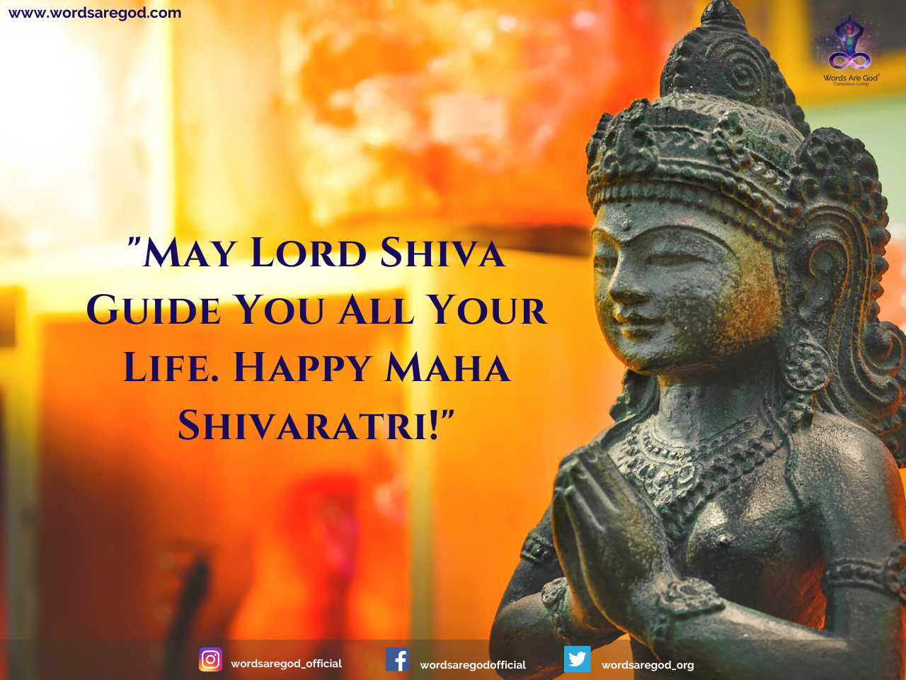 Shivratri Wishes by Events and Festival