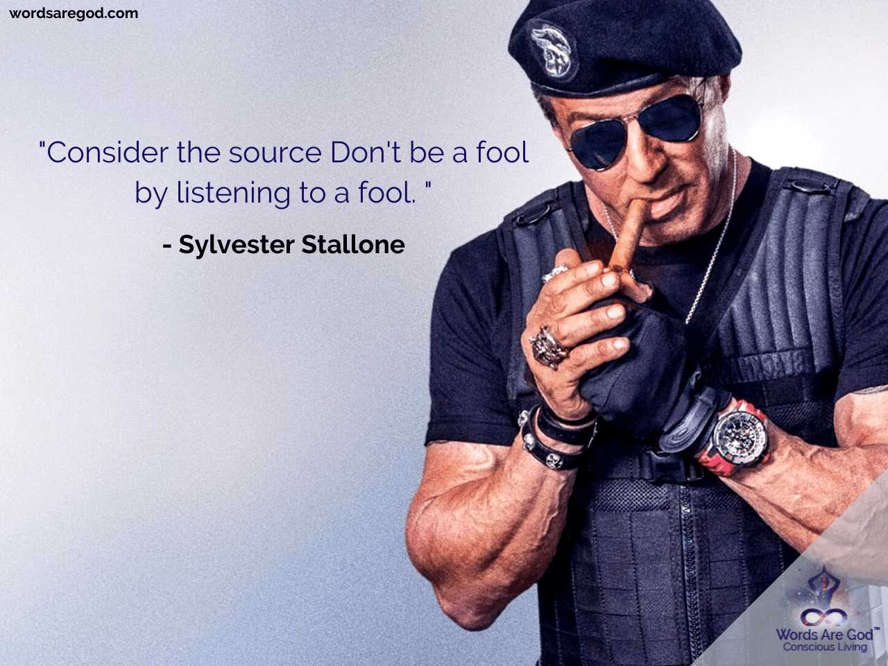 Sylvester Stallone Best Quotes by Sylvester Stallone