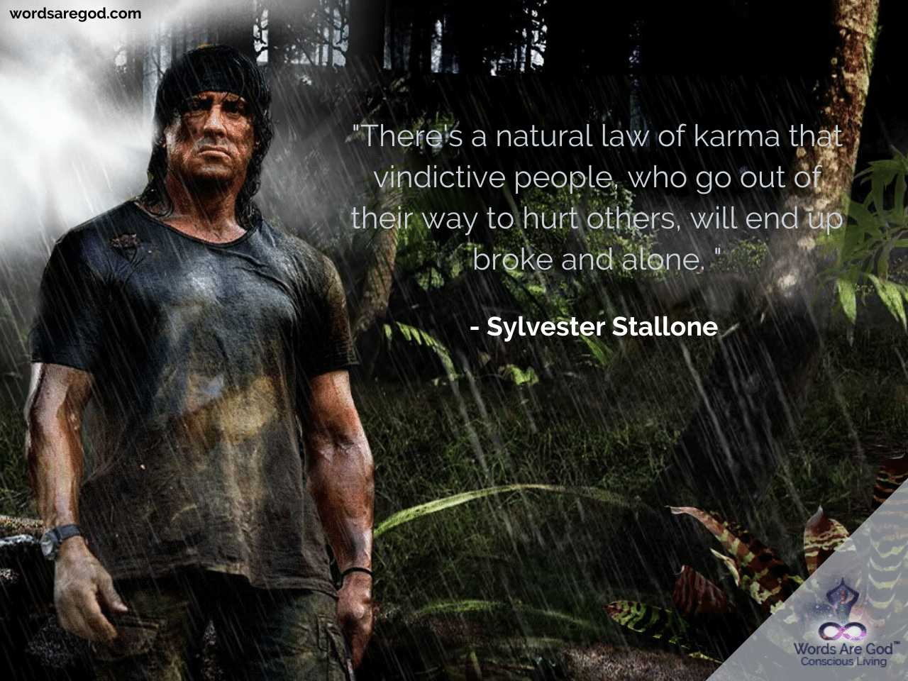 Sylvester Stallone Inspirational Quotes