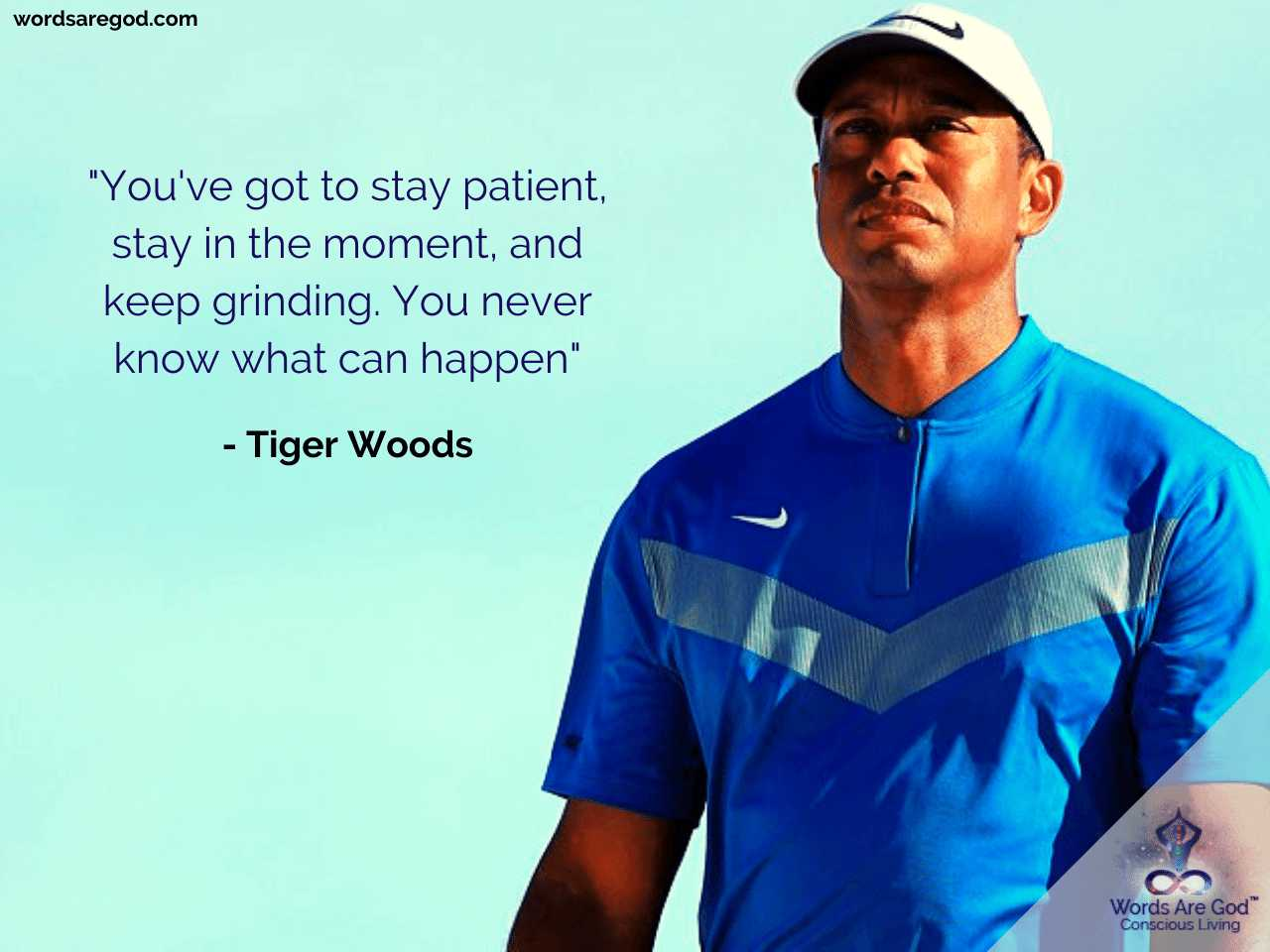 Tiger Woods Best Quote by Tiger Woods