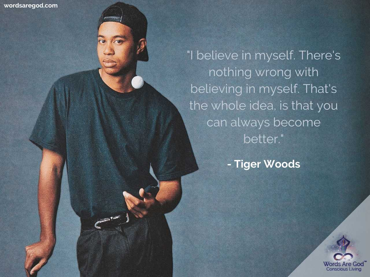 Tiger Woods Life Quote by Tiger Woods