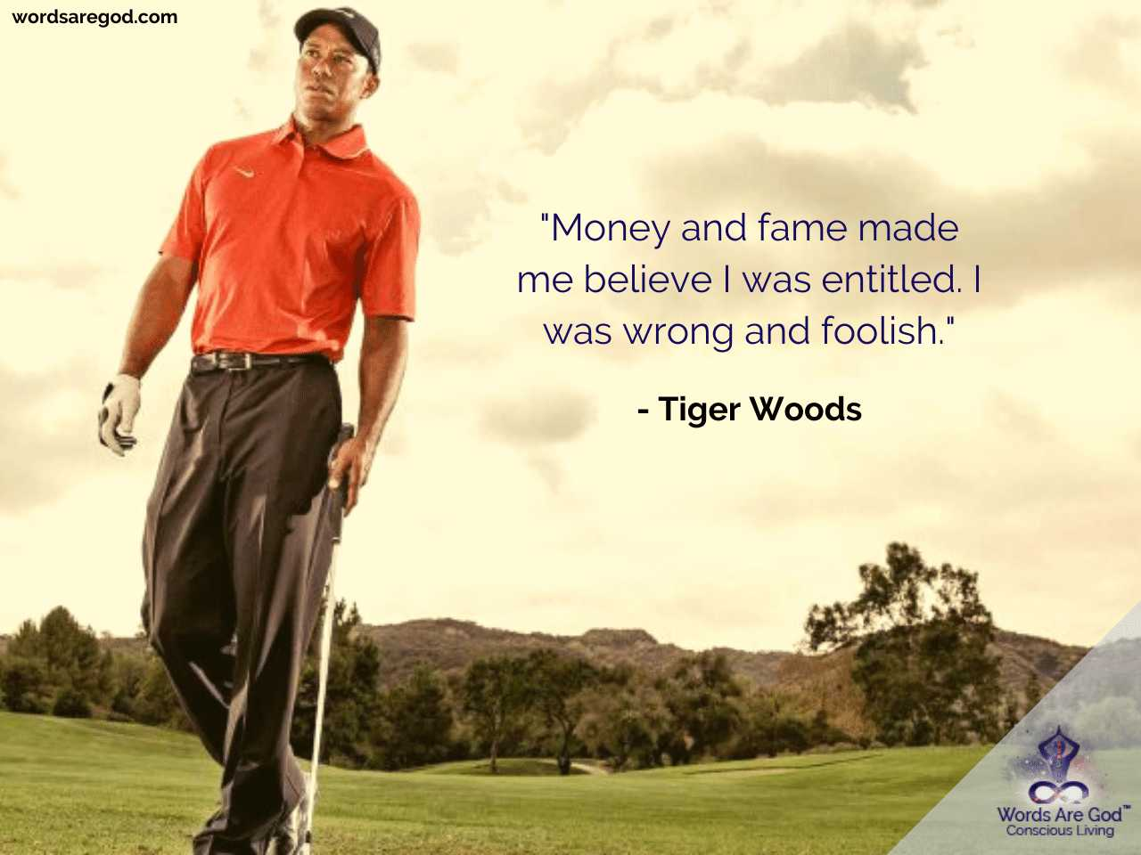 Tiger Woods Motivational Quote by Tiger Woods