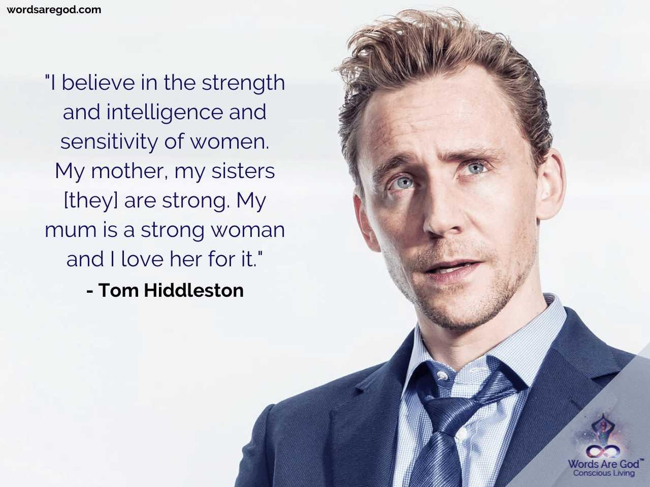 Tom Hiddleston Motivational Quotes