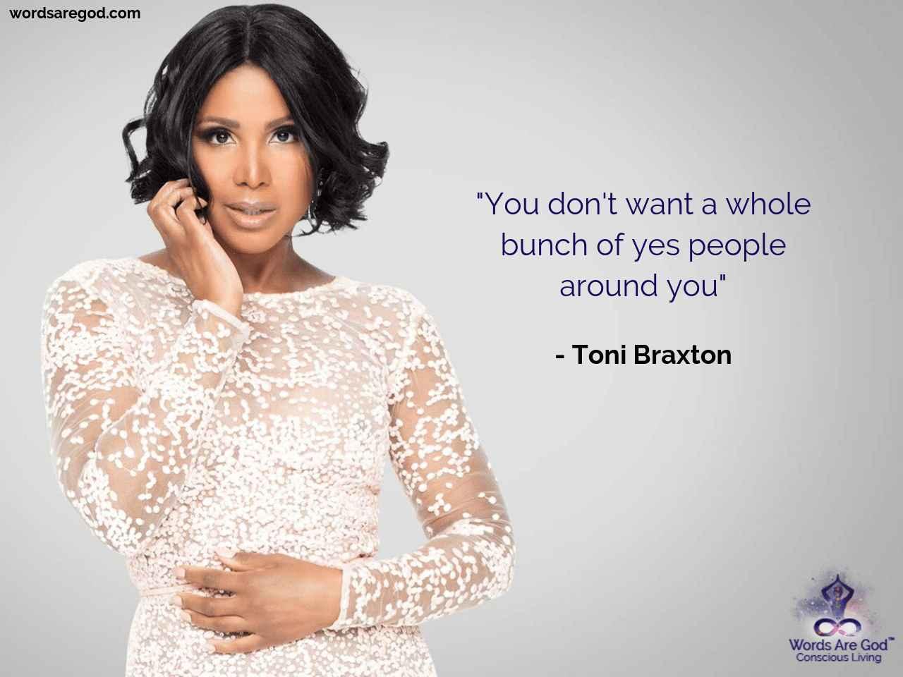 Toni Braxton Life Quote