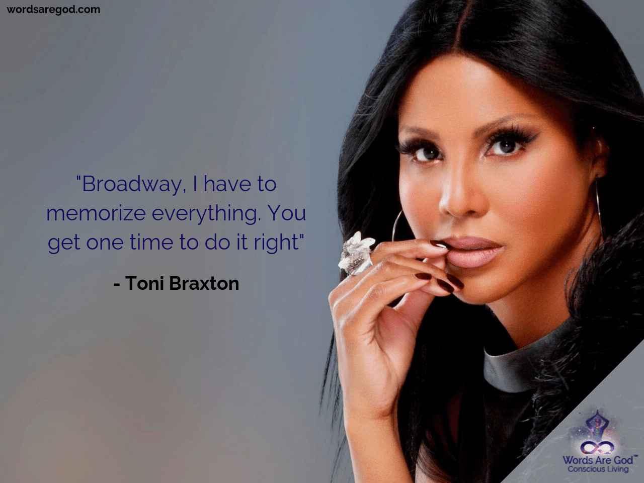 Toni Braxton Music Quote