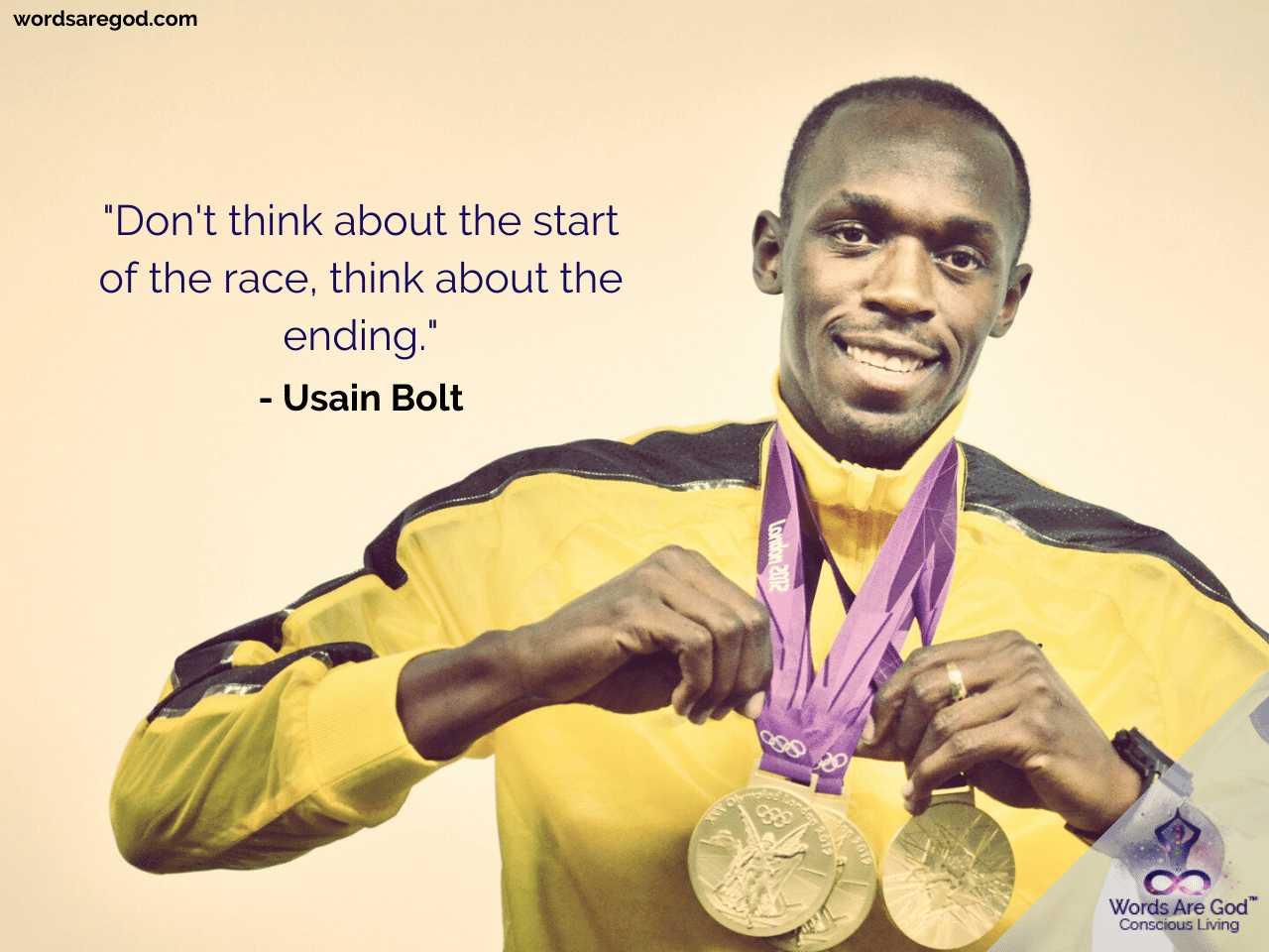 Usain Bolt Best Quotes