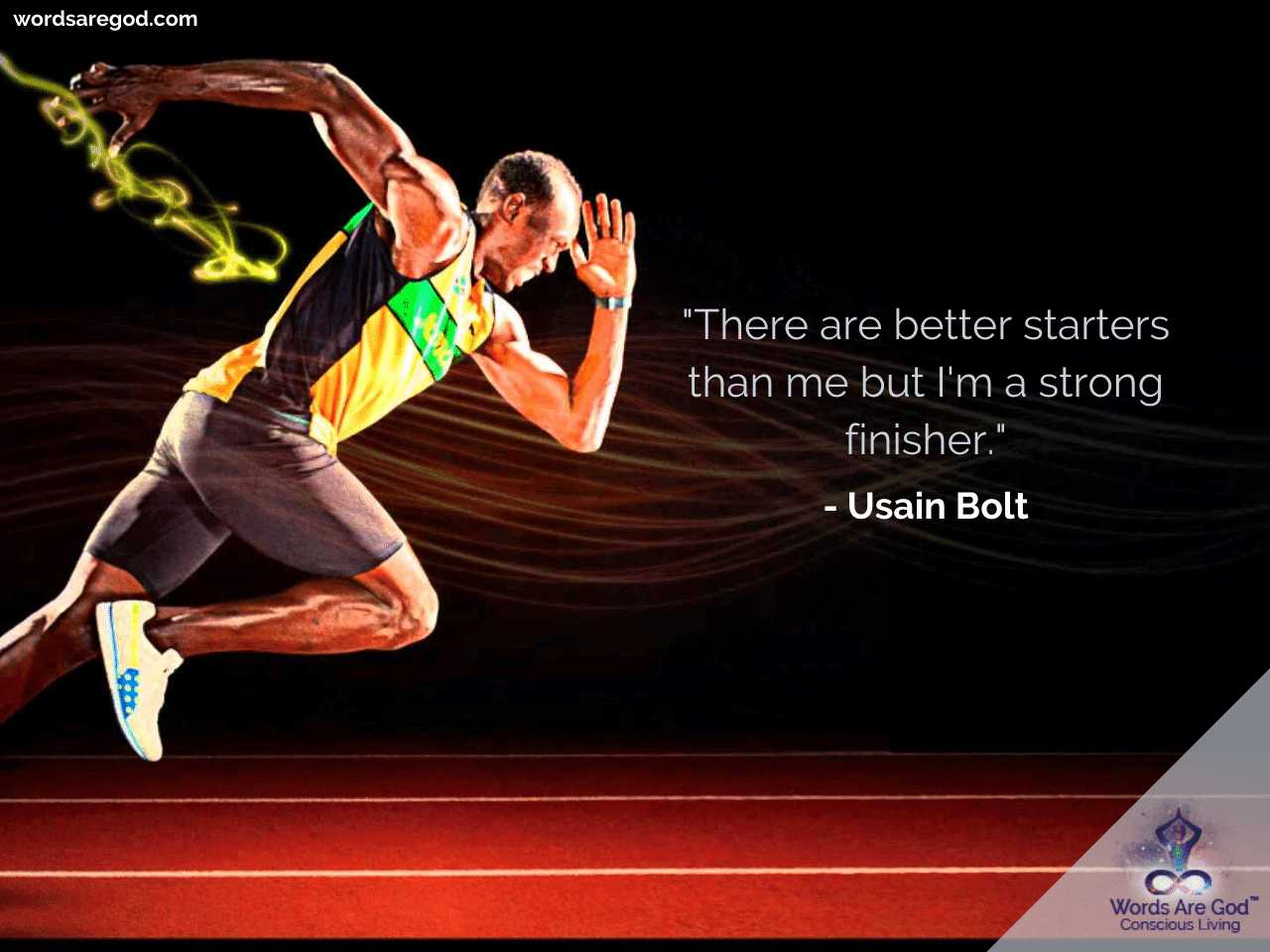 Usain Bolt Inspirational Quotes