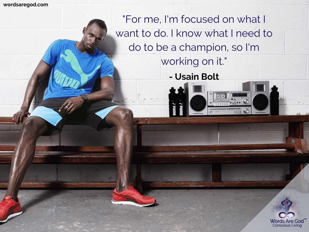 Usain Bolt Life Quotes by Usain Bolt