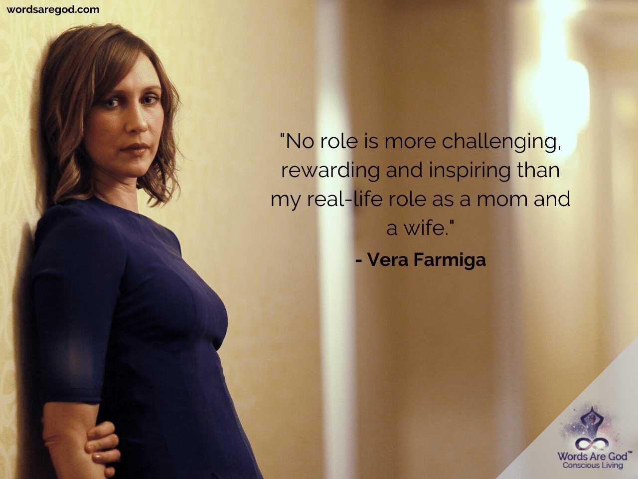 Vera Farmiga Inspirational Quotes