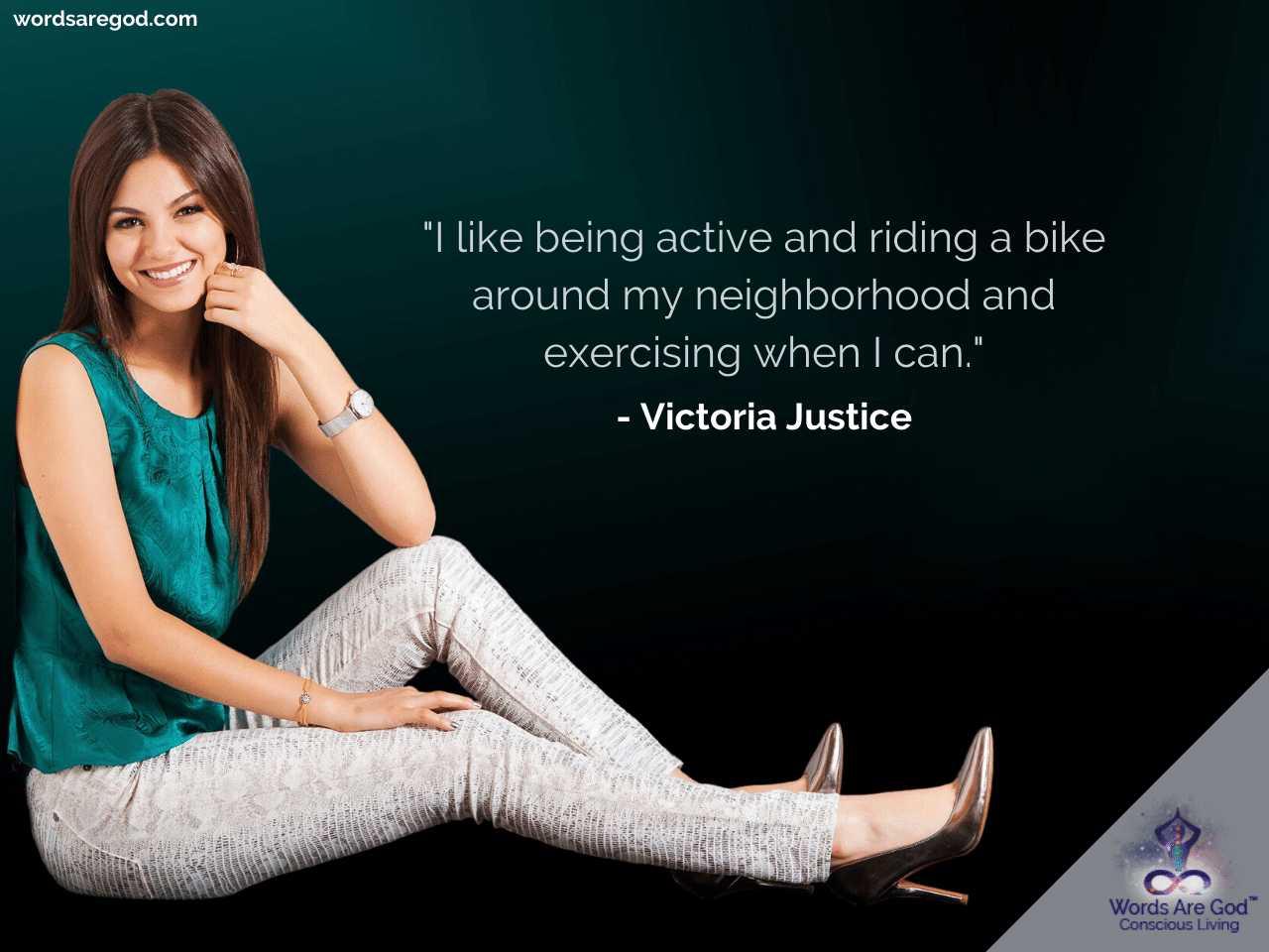 Victoria Justice Best Quotes
