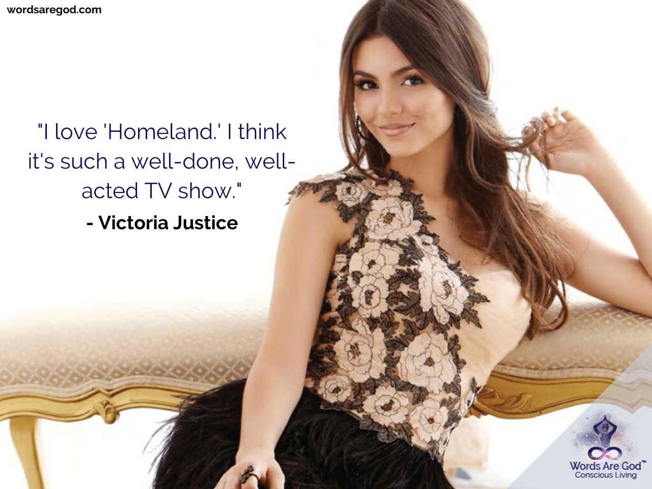 Victoria Justice Inspirational Quotes