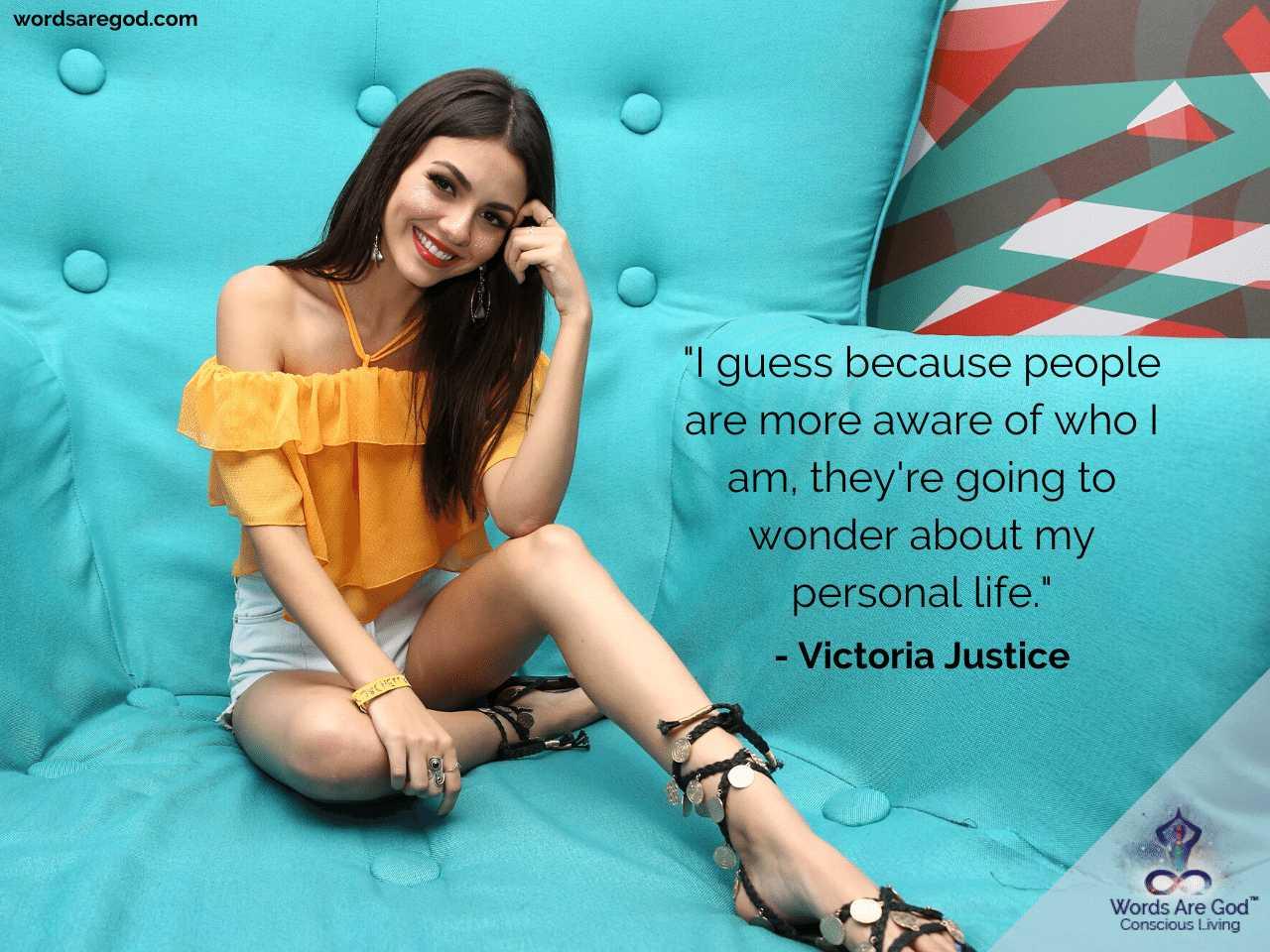 Victoria Justice Life Quotes by Victoria Justice