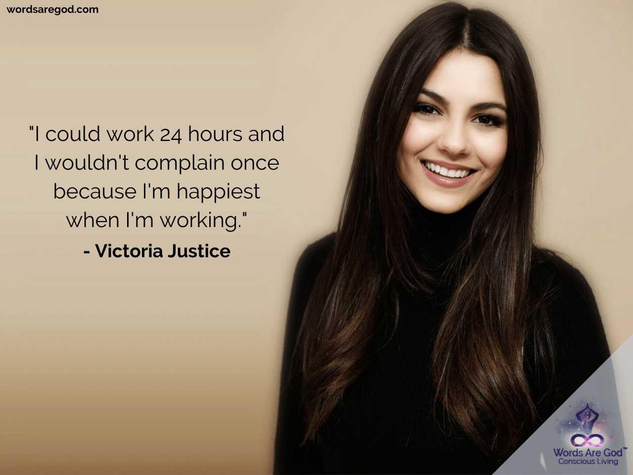 Victoria Justice Motivational Quotes