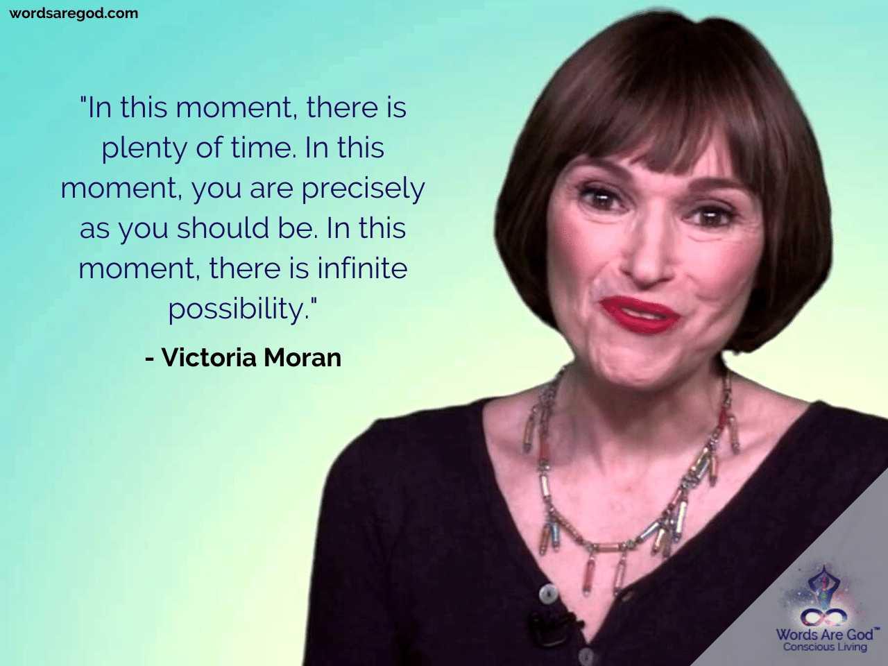 Victoria Moran Best Quote