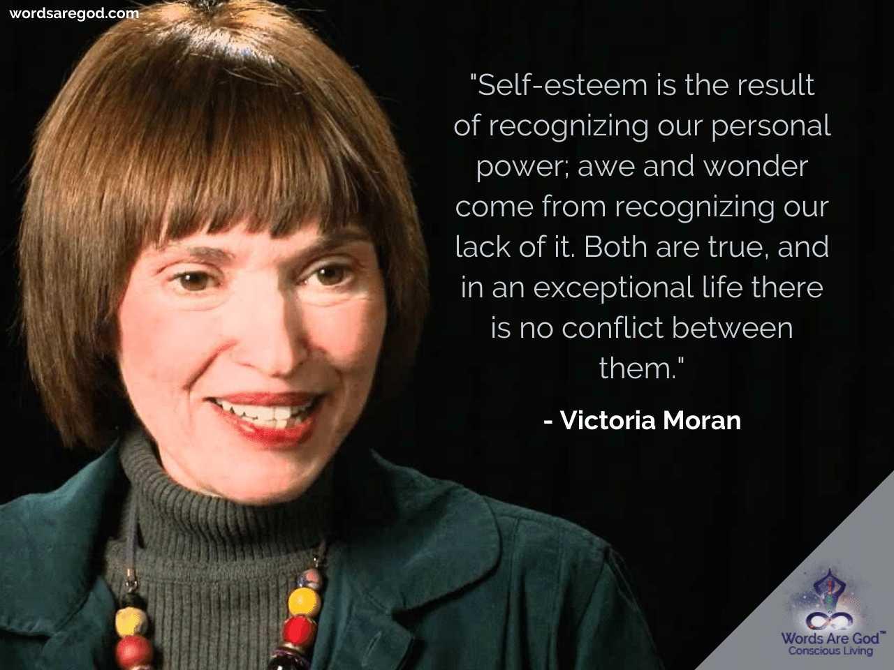 Victoria Moran Motivational Quote