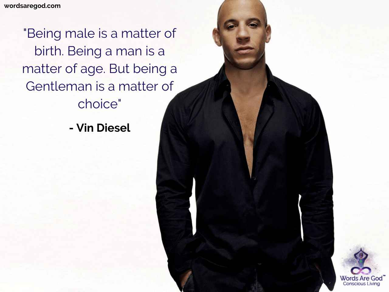 Vin Diesel Inspirational Quote