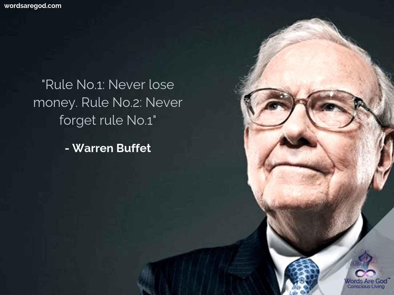 Wareen Buffet Inspirational Quote