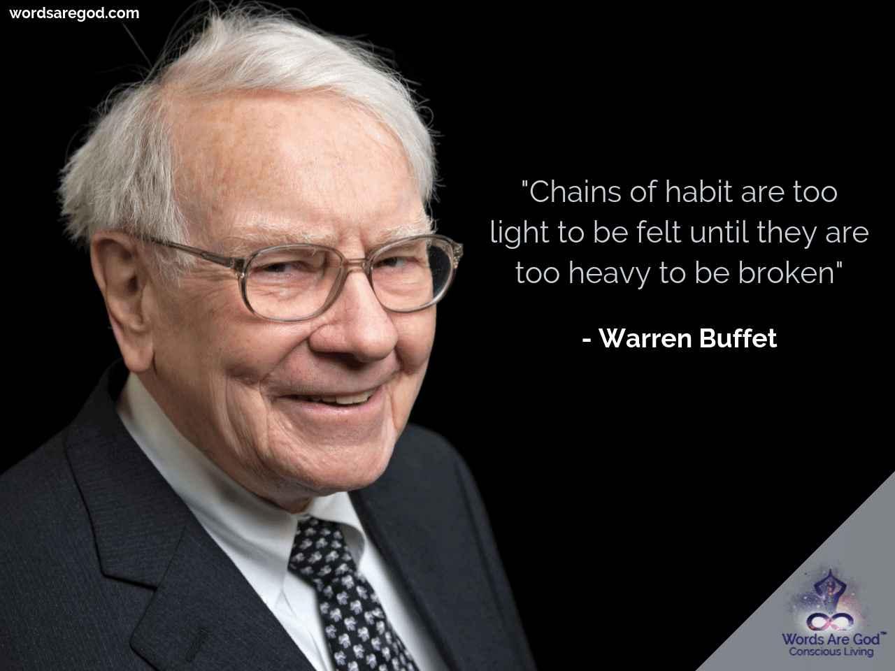 Wareen Buffet Inspirational Quote by Warren Buffet