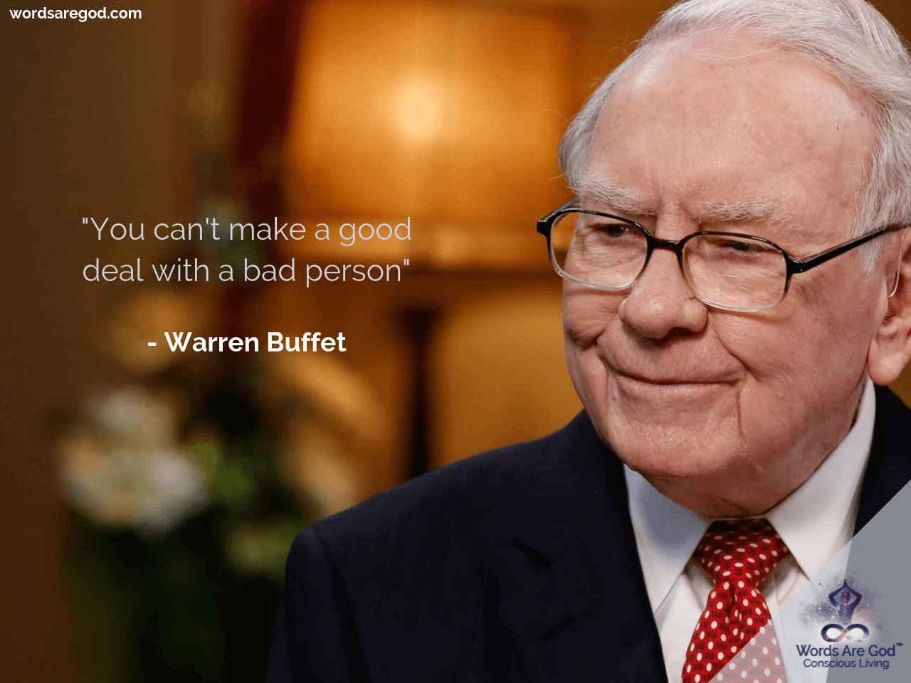 Wareen Buffet Life Quote