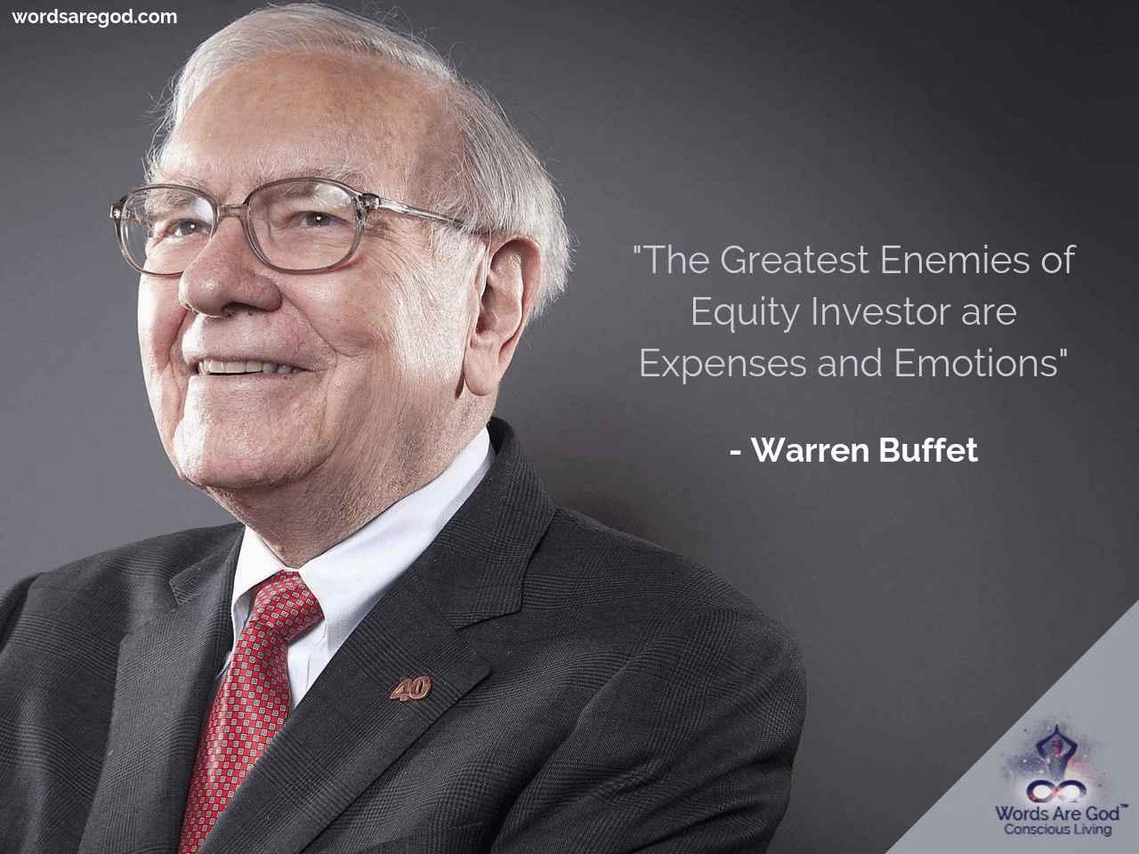 Wareen Buffet Motivational Quote