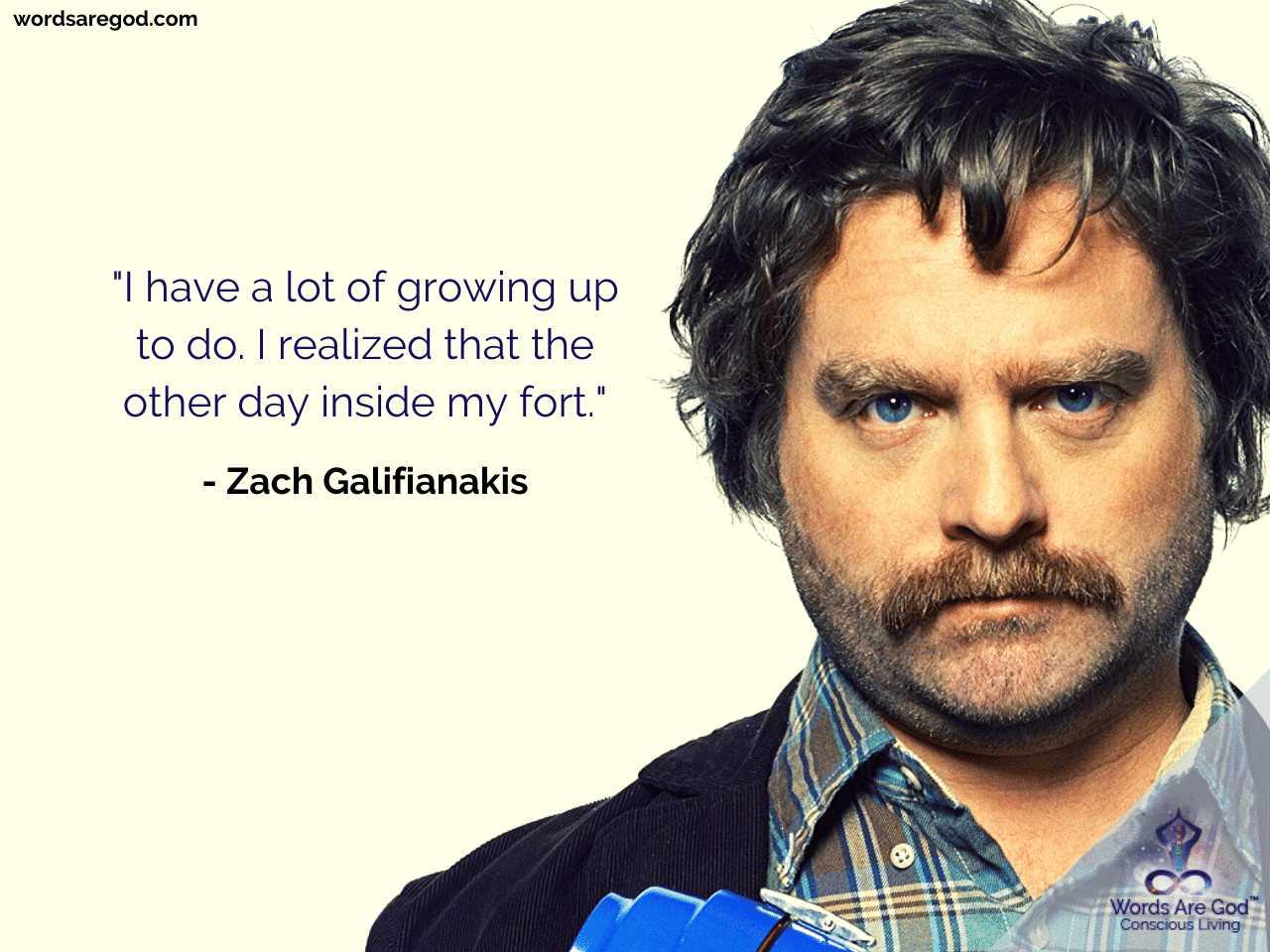 Zach Galifianakis Best Quote